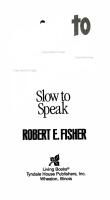Quick to Listen  Slow to Speak PDF