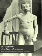 The treatment of syphilis with salvarsan