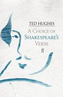 A Choice of Shakespeare s Verse PDF
