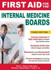 First Aid for the Internal Medicine Boards, 3rd Edition: courseload ebook for First Aid for the Internal Medicine Boards 3/E, Edition 3