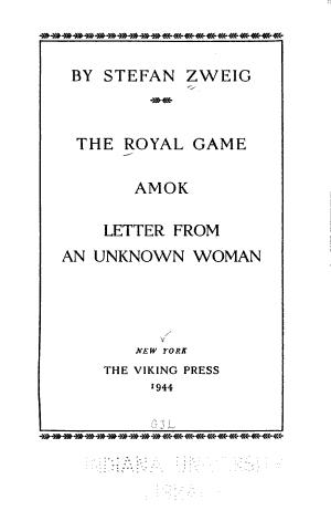 The Royal Game