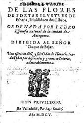 Flores de poetas ilustres de Espana