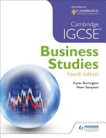 Cambridge IGCSE Business Studies 4th edition PDF