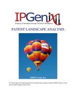 ARRIS Group Inc Patent Landscape Analysis     January 1  1994 to December 31  2013 PDF