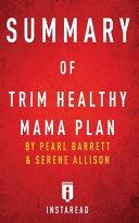 Summary Of Trim Healthy Mama Plan Book PDF