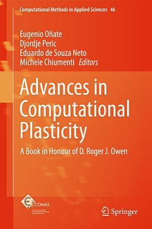 Advances in Computational Plasticity PDF
