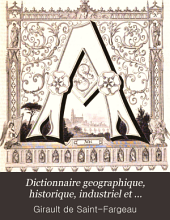 Dictionnaire geographique, historique, industriel et commercial de toutes les communes de la France et de plus de 20,000 hameaux en dépendant ...