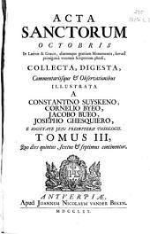 Acta sanctorum octobris ...