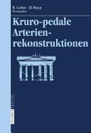 Kruropedale Arterienverschl  sse PDF