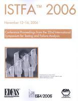 ISTFA 2006 PDF