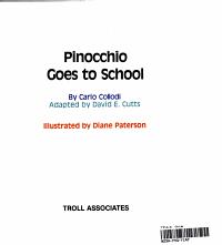 Pinocchio Goes to School