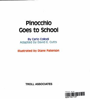 Pinocchio Goes to School PDF