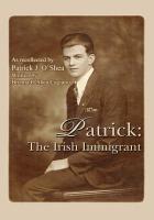 Patrick  the Irish Immigrant PDF