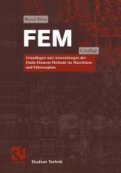 FEM: Grundlagen und Anwendungen der Finite-Element-Methode im Maschinen- und Fahrzeugbau, Ausgabe 6
