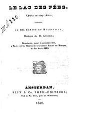 Le lac des fées: opéra en cinq actes