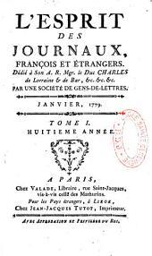 L'esprit des journaux françois et étrangers