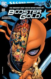 Booster Gold (2008-) #22