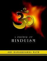 A Primer of Hinduism  Sri Ramakrishna Math PDF