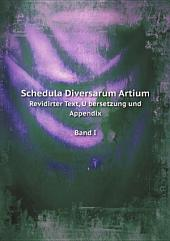 Schedula Diversarum Artium: Band 1