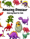 Amazing Dinosaur Coloring Book For Kids PDF
