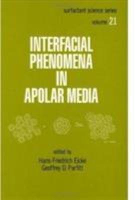 Interfacial Phenomena in Apolar Media