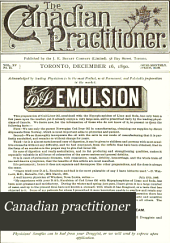 Canadian Practitioner: Volume 15