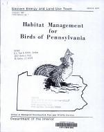 Habitat Management for Birds of Pennsylvania