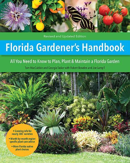 Florida Gardener s Handbook  2nd Edition PDF