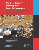 The 21st Century Meeting and Event Technologies PDF
