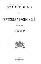 Staatsblad van Nederlandsch Indië: Volume 1893