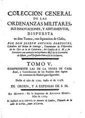 Colección General de las Ordenanzas Militares