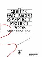 Practical Patchwork and Applique Techniques PDF