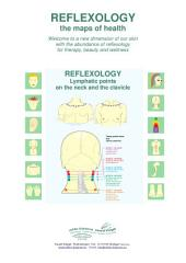 REFLEXOLOGY - Lymphatic points on the neck: REFLEXOLOGY - the maps of health