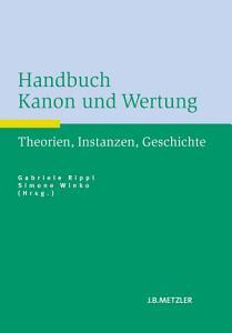Handbuch Kanon und Wertung PDF