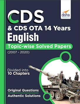 CDS   CDS OTA 14 Years English Topic wise Solved Papers  2007 2020  PDF