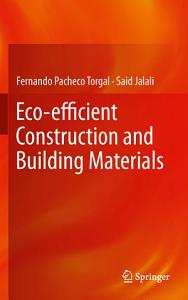 Eco efficient Construction and Building Materials