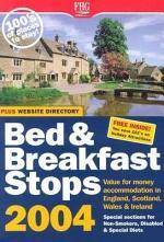 B&b Stops in England, Scotland & Wales 2004