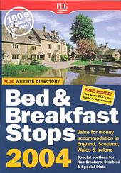 B&b Stops in England, Scotland & Wales 2004