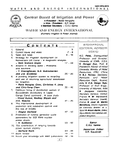 Water and Energy International