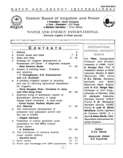 Water and Energy International PDF