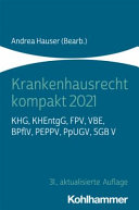 Krankenhausrecht kompakt 2021 PDF
