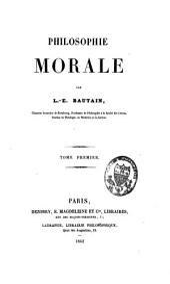 Philosophie morale: Volume1