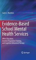 Evidence Based School Mental Health Services PDF