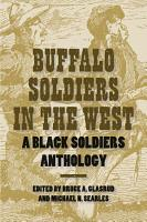 Buffalo Soldiers in the West PDF