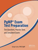 All In one Pgmp Study Guide and Practice Tests