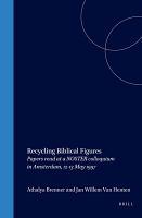 Recycling Biblical Figures PDF