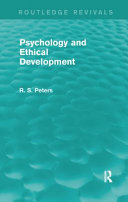 Psychology and Ethical Development (Rev) Rpd