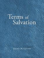 Terms of Salvation PDF