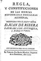 Regla y Constituciones de las Monjas Reformadas Descalzas Agustinas