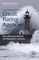 The Independence of Credit Rating Agencies PDF